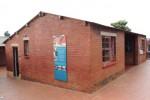 Het voormalige huis van Nelson Mandela, een geliefde plek voor een stand-up over 'zijn situatie'. Foto Niels Posthumus