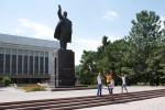 Standbeeld Lenin in Bishek