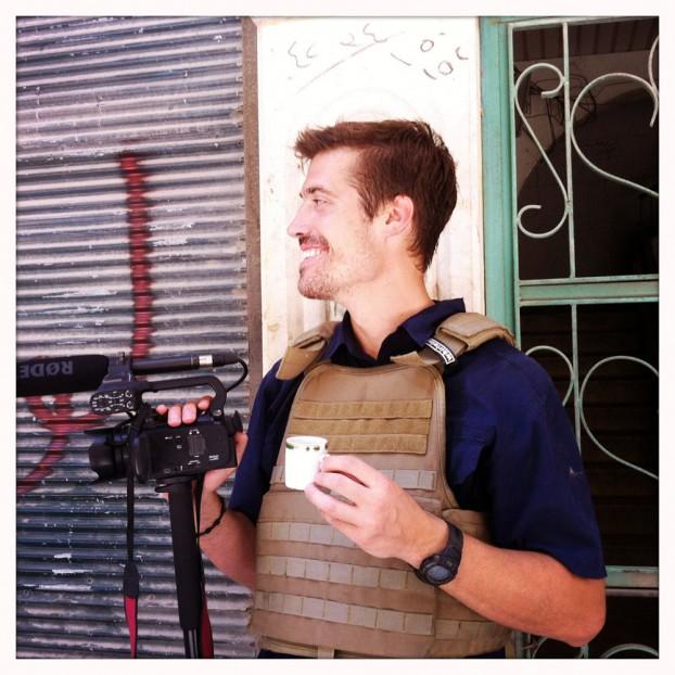 James Foley in Aleppo juli 2012. Foto Nicole Tung / Free James Foley