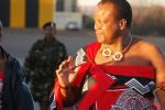 Koning Mswati III van Swaziland. Foto Kollmeierf / Wikipedia Creative Commons