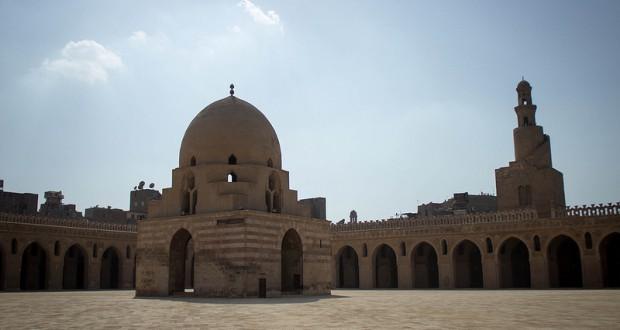 De Ibn Tulun moskee in Cairo. Foto: Ester Meerman