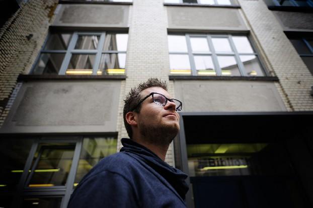 Bertus Bouwman in Berlijn. Foto Jaap Arriens