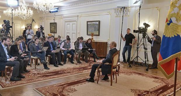 Poetin journalisten