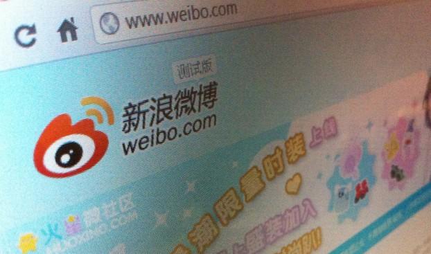 Weibo, de Chinese variant van het in 2009 verbannen Twitter. Foto credit: jonrussell via photopin cc