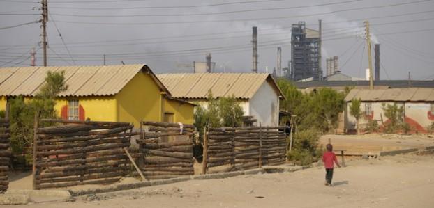 Kankoyo compound in Zambia (2013). Door: Klaartje Jaspers