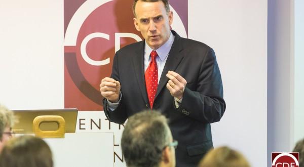 Econoom Edward Glaeser. Foto CDE
